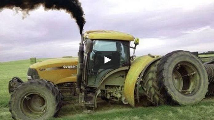collecte massive de tracteur bloque vidéos montrant des accidents de tracteur et…