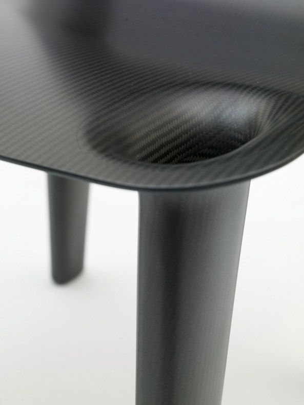 Carbon fiber, table, black