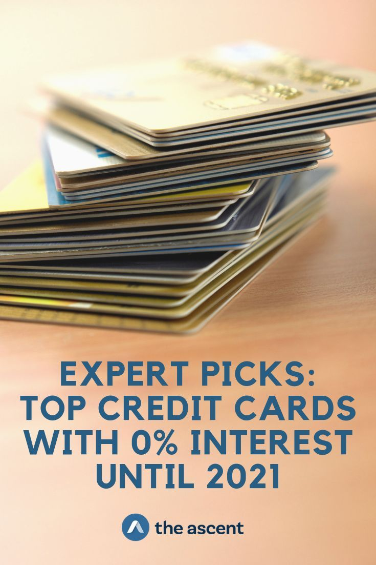 Top credit cards with 0 interest until 2021 credit card