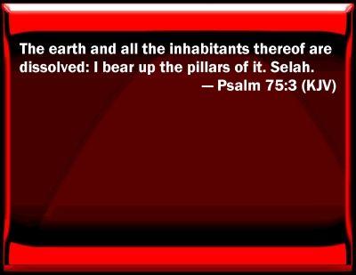 Image result for psalm 75:3 kjv