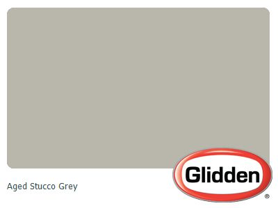 Aged Stucco Grey Paint Color Glidden Paint Colors