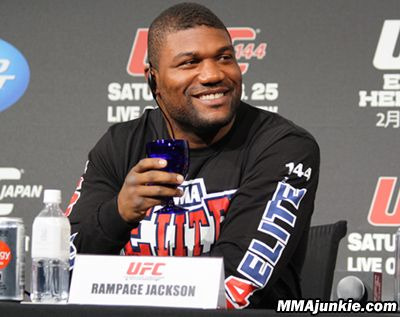 """Quinton """"Rampage"""" Jackson (32-10 MMA, 7-4 UFC) isn't out of the UFC just yet.    One day after the disgruntled former light-heavyweight champ asked the promotion to be released, he's instead expected to serve the final fight of his UFC contract in a meeting with fellow former champ Mauricio """"Shogun"""" Rua (20-6 MMA, 4-4 UFC)."""