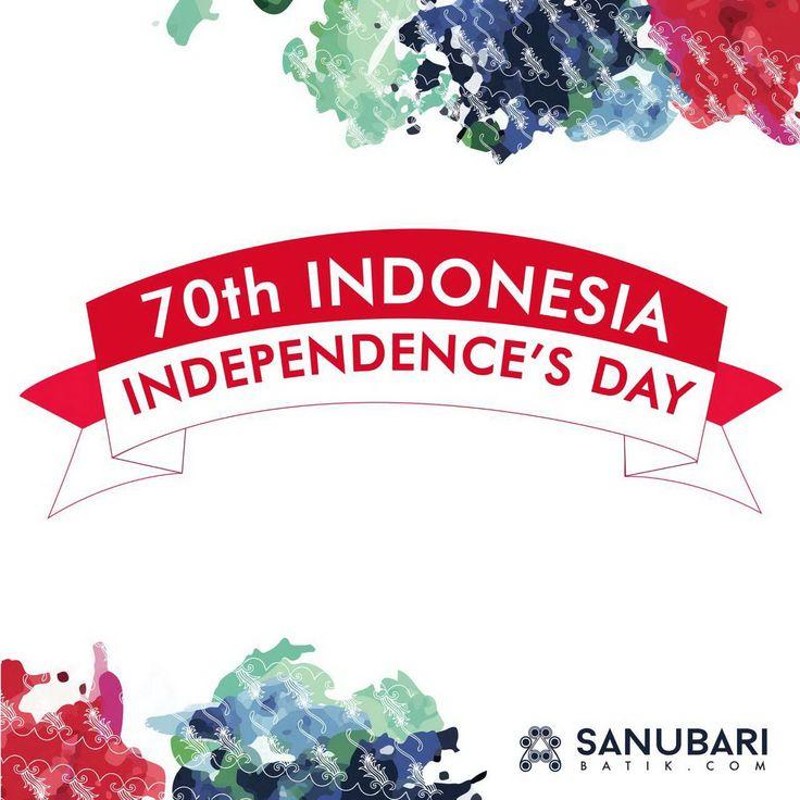 #sanubaribatik #sanubaribatik.com #Batik #Indonesia #Independenceday
