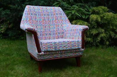 cute vintage armchair