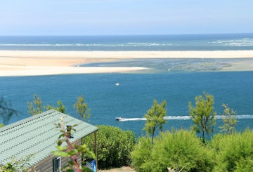 Our french campsite - Panorama Dune Du Pyla - we camped about 100 mtrs from the beach, saw this every morning! excellent facilities and very friendly people :D