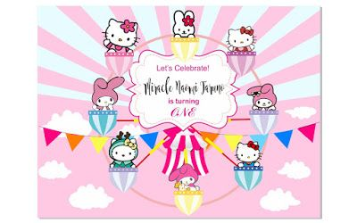 Gratis Download Banner tema Hello Kitty dan Melody