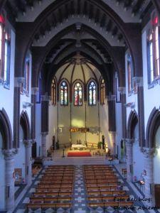 Interiores de la Iglesia Mayor