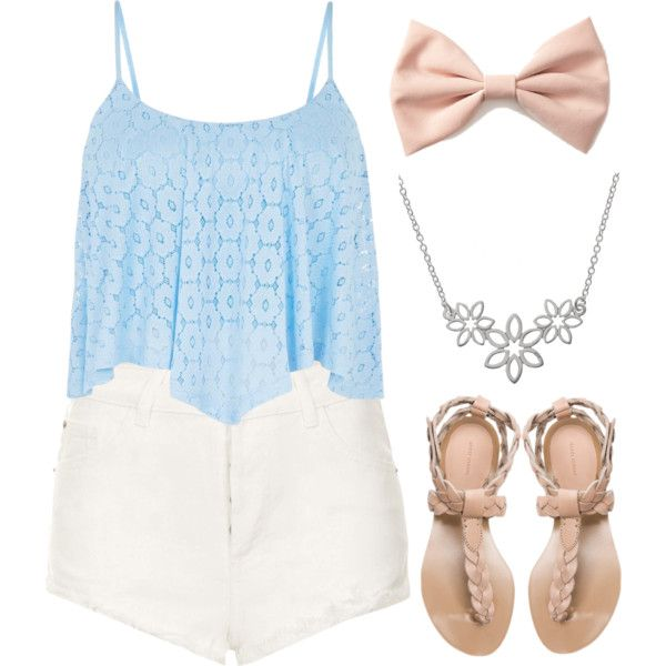 Clothes Casual Outfit for •movie • girls • women •. summer • fall • spring • winter • outfit ideas • date • school • parties Polyvore :) Catalina Christiano