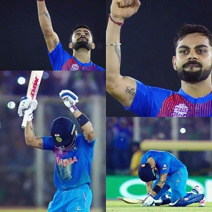 FOCUS ON THIS LINE ALL INSTAGRAM USER...(PEOPLE CALL U LUCKY BUT THEY DONT KNOW HOW HARD U WORKED...) True Legend...Our idol What a Sensible Brilliant knock By Virat... M PROUD OF U VIRAT KOHLI..U ARE U SUCH A MASTER PIECE OF INDIAN CRICKET TEAM.... by sapanpatel7876