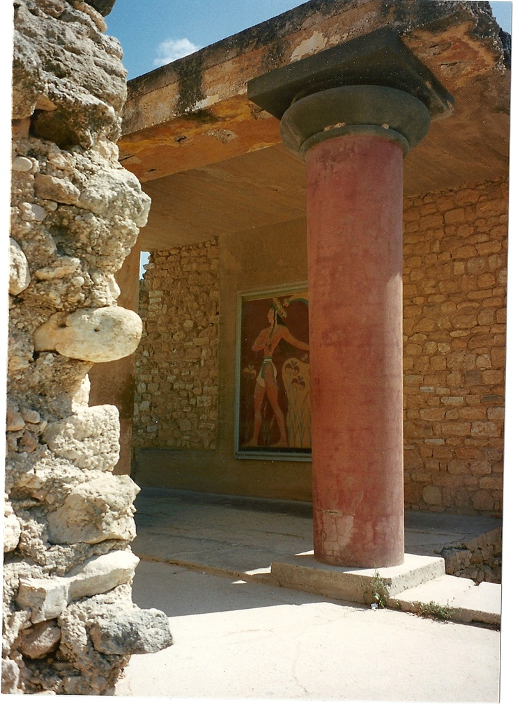 Knossos ..... read the story relating to this site on wikipedia....click here.... http://en.wikipedia.org/wiki/Knossos