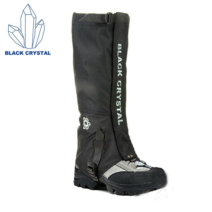 Best Price Black Crystal Hiking Gaiters Men Outdoor Research Hunting Breathable Waterproof Snake Proof Leg Snow Ski Gaiters CORDURA Fabric #Black #Crystal #Hiking #Gaiters #Outdoor #Research #Hunting #Breathable #Waterproof #Snake #Proof #Snow #CORDURA #Fabric