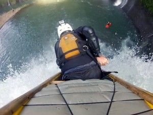 Video of whitewater canoe waterfall record is released | GrindTV.com