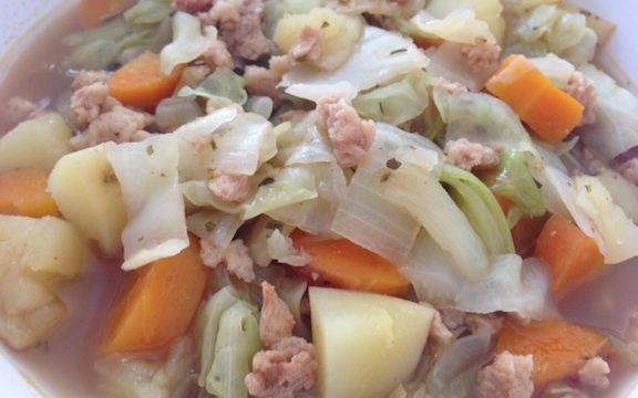 potee de choux Recette végétarienne : la potée de choux