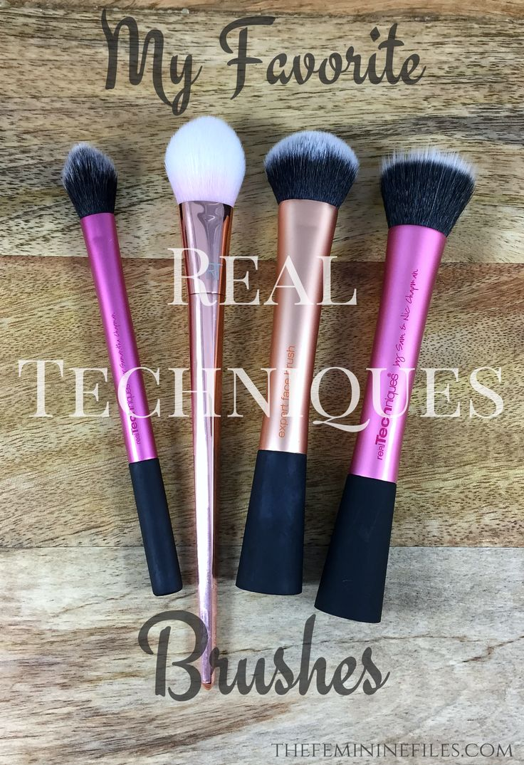 My Favorite Real Techniques Makeup Brushes