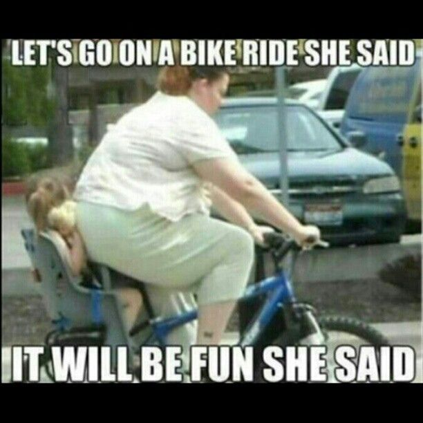 Lets #go #on a #bike #ride #she #said, it will be #fun #shesaid | Flickr - Photo Sharing!