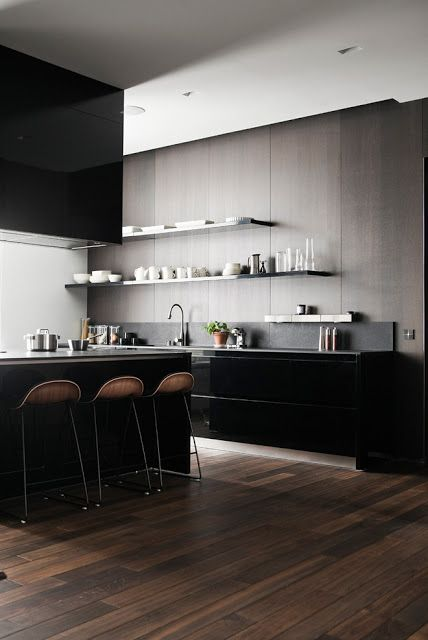 dark and clean lines