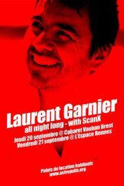 Laurent Garnier feat. Scan X à Brest et à Rennes les 20 et 21 septembre 2012 (Gagnez des places)-http://www.kdbuzz.com/?laurent-garnier-feat-scan-x-a-brest-et-a-rennes-les-20-et-21-septembre-2012-gagnez-des-places