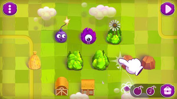 "iOS game ""Woolly Willy"" by Aliaksandr Kastseuski, via Behance"