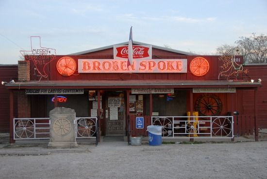 Broken Spoke. Austin, TX.