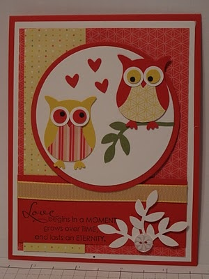 In My Craft Room: Anniversary card