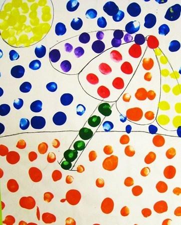 Georges Seurat Pointillism - Kindergarten