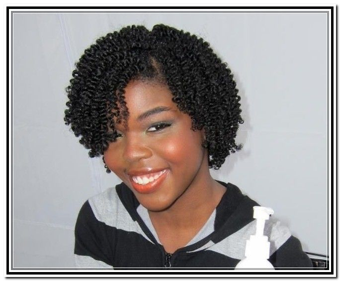 Black Natural Hair Styles Two Strand Twist