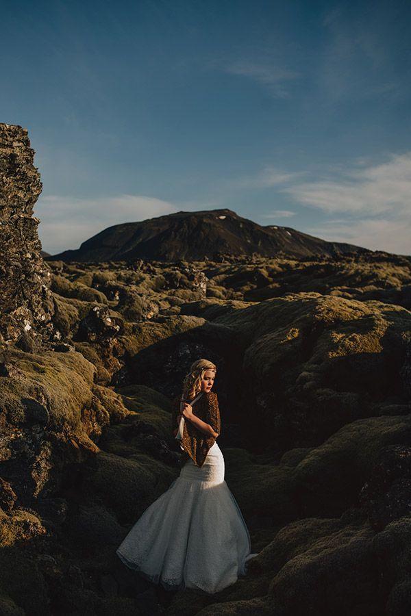 Iceland Wedding Elopement - Photos of Iceland | Wedding Planning, Ideas & Etiquette | Bridal Guide Magazine