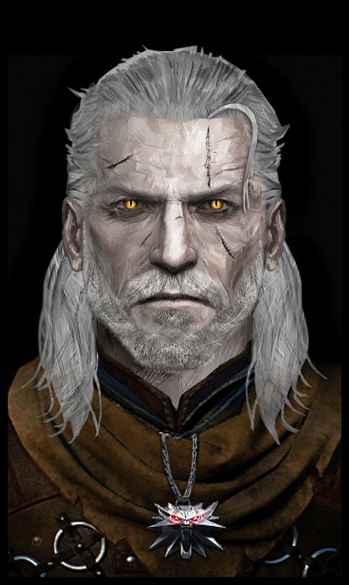 Geralt of Rivia by Atypicalgamergirl   Wiedźmińska rodzinka - Geralt. Yennefer. Ciri   Pinterest   ウィッチャー. ファンタジー i 畫