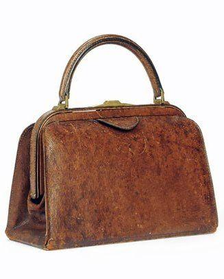 Gucci 'Gladstone' Handbag - 1930's - Christie's - @~ Mlle