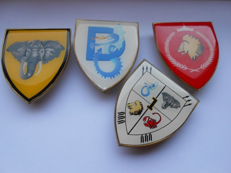 lot of four large SW /S Africa military unit badges | eBay