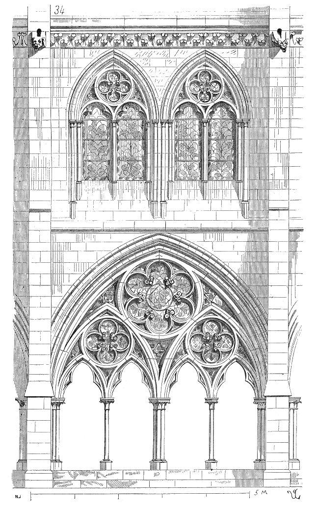 Dictionnaire raisonné de l'architecture française du XIe au XVIe siècle - cloître