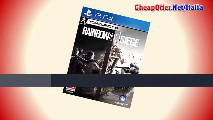 Videogiochi Italia PS4: Rainbow Six Siege