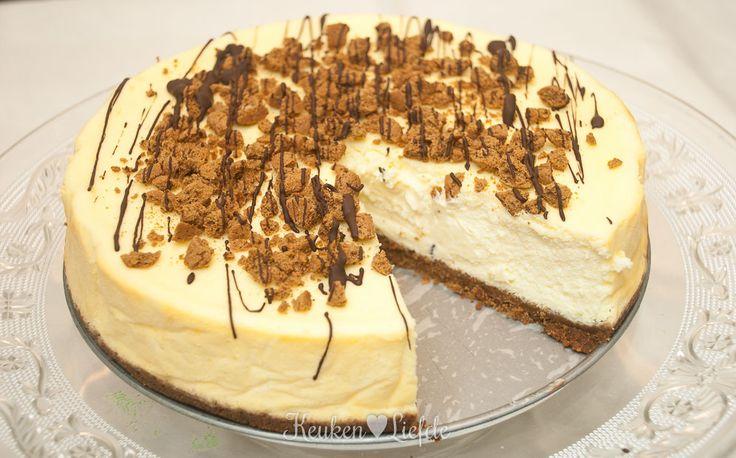 Pepernoten-cheesecake