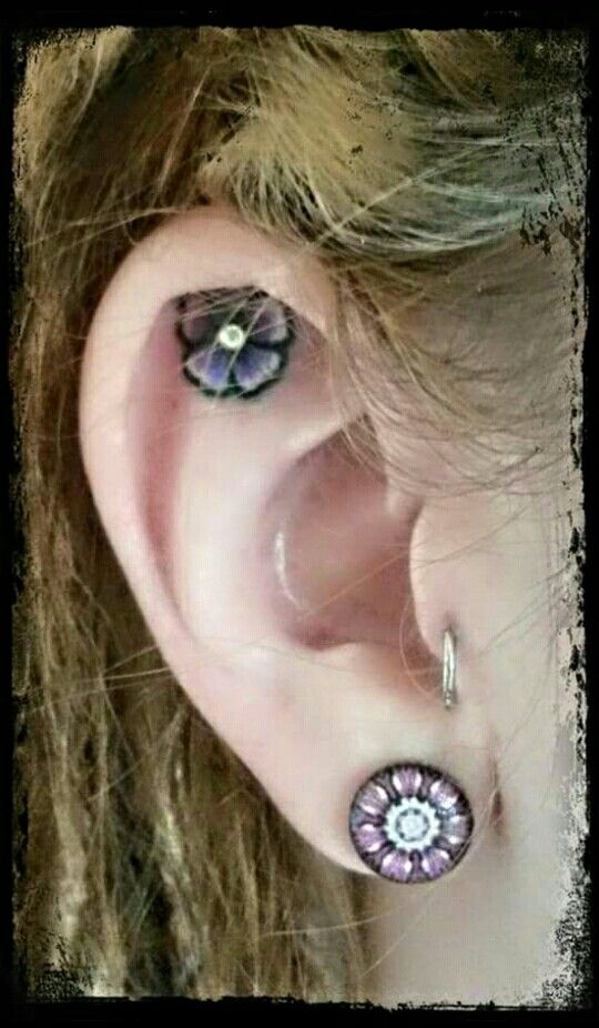 40 best Ear tattoos images on Pinterest | Tattoo ideas