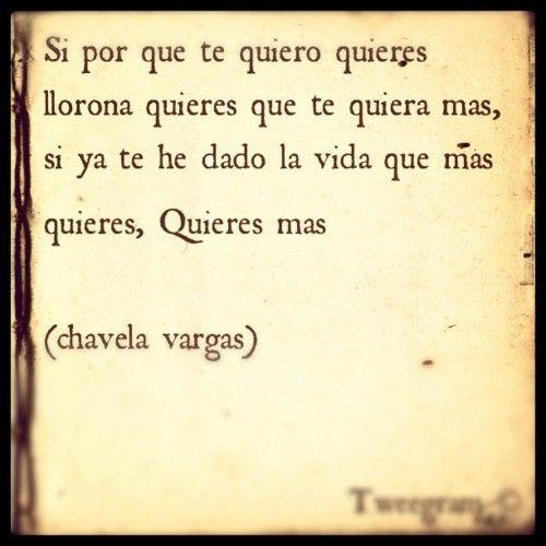 entactogenesis:    #chavela vargas #llorona (Tomada con instagram)