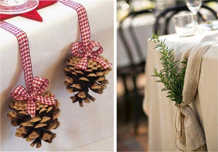 """Una mesa decorada para Navidad """"Small&Lowcost""""   Decoración"""