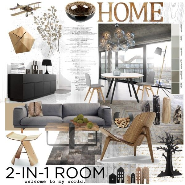"""2-in1 room"" by szaboesz on Polyvore"