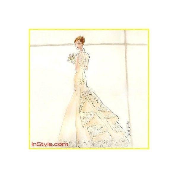 Fashion Designers Sketch Bella Swan S Wedding Dress