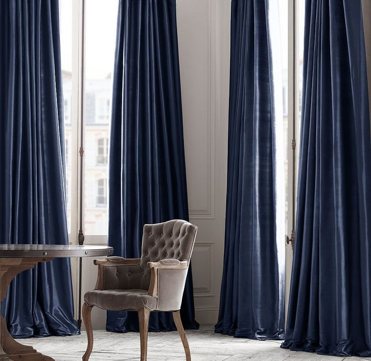 17 best images about door on pinterest sliding doors for Restoration hardware silk curtains