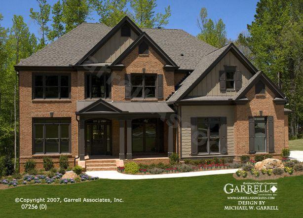 Garrell Associates Inc Oxford D House Plan 07256