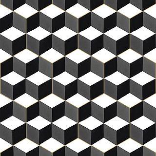 Mateo - Heksagonalne płytki - Kolory Maroka - marokańskie umywalki, płytki cementowe