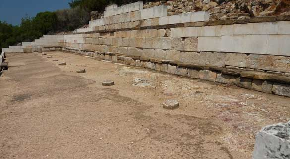 Ancient Stagira, Halkidiki,Sithonia, Greece