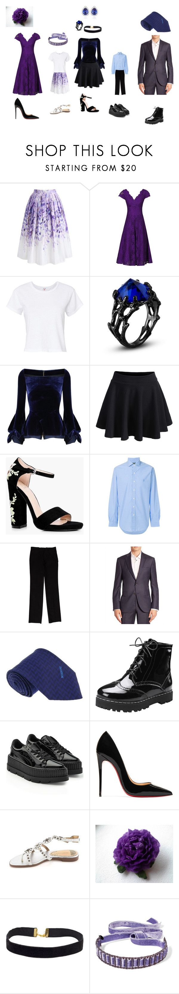 """""""Family Picture 1"""" by ro023107 on Polyvore featuring Chicwish, Jolie Moi, RE/DONE, Roland Mouret, Boohoo, Polo Ralph Lauren, Calvin Klein Collection, Saks Fifth Avenue, Missoni and Puma"""