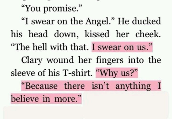 Clary's and Jace...