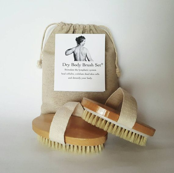 Dry Body Brushes #lymphhealth #lymph #etsy #bodycare #exfoliation #cellulite #health Check out this item in my Etsy shop https://www.etsy.com/listing/238038445/the-dry-body-brush-set