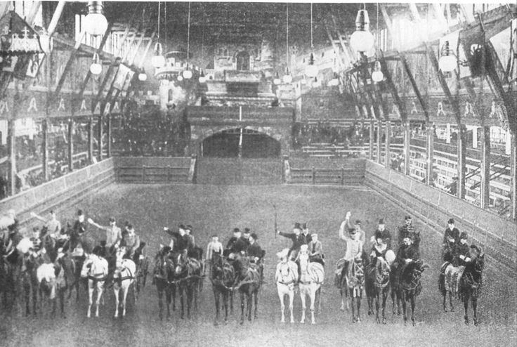 Inside the National Riding Hall
