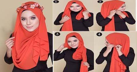 Tutoriels Hijab Simples Et Faciles 210