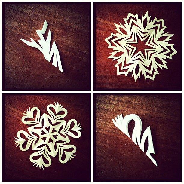 snowflakes.. so cute                                                                                                                                                                                 Mais