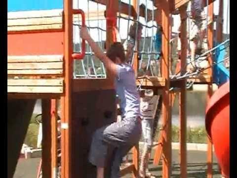 Na Placu Zabaw na Bulwarach we Włocławku - YouTube