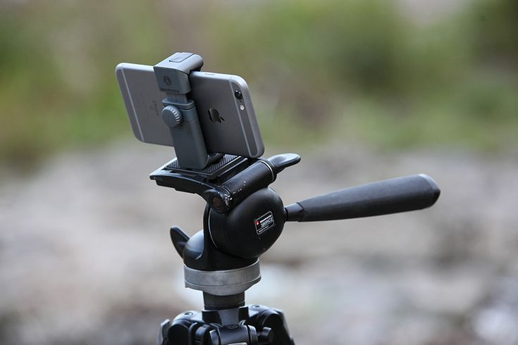 Using the twistgrip from manfrotto to take better smartphone photos